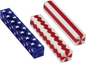 Penn State Industries Stars & Stripes Acrylic Pen Blanks Mixed Styles (15pack)