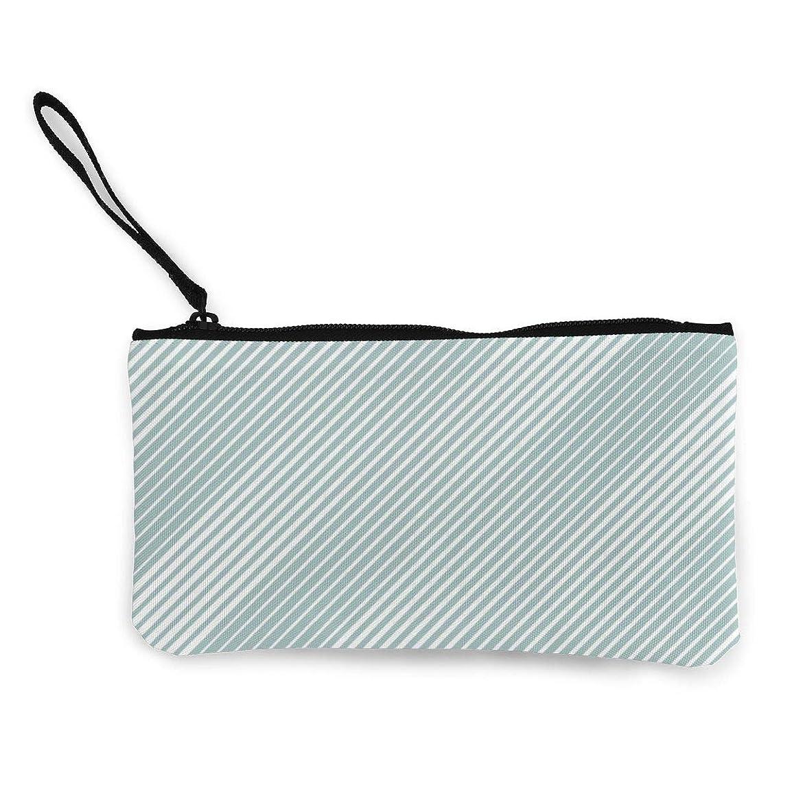 面倒泥人質ErmiCo レディース 小銭入れ キャンバス財布 垂直線を持つ抽象 小遣い財布 財布 鍵 小物 充電器 収納 長財布 ファスナー付き 22×12cm