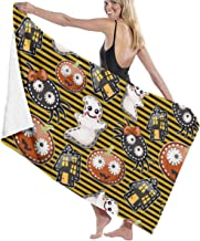 Print Yoga Mat Texture Of Cute Characters Halloween Large Bath Towels Bath Towel Set Soft Highly Absorbent Unisex Suitable For Bathroom Swimming Pool Beach Personalized 瑜伽垫