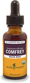 Herb Pharm Certified Organic Comfrey Liquid Extract - 1 Ounce (DCOMF0)