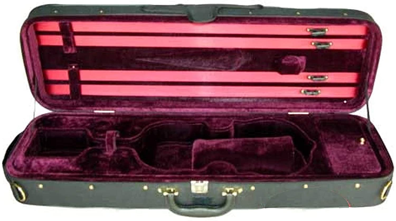 D'Luca CP03 Oblong Violin Max 53% OFF Case 3 - Burgundy mart 4