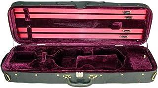 D'Luca CP03 Oblong Violin Case Burgundy - 3/4