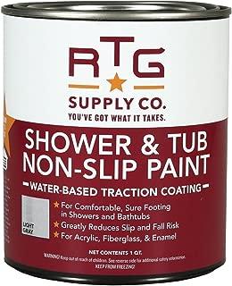 RTG Shower & Tub Non-Slip Paint (Quart, Light Gray)