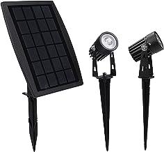 Solar Spotlight, Waterproof Outdoor Solar Lights Landscape Lighting Wall Light Auto On/Off for Yard Garden Driveway Pathwa...