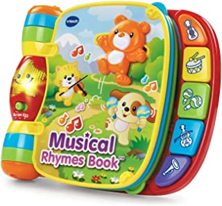 VTech Musical Rhymes Book (Special Edition : 6 Nursery Rhymes , 40+ Songs)