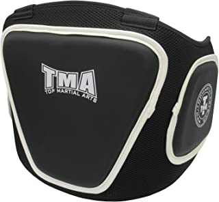TMA Boxing Belly Pad Chest Guard MMA Body Protector Martial Arts Rib Shield Armour Taekwondo Training