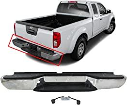MBI AUTO - Steel Chrome, Complete Rear Bumper Assembly for 2005-2018 Nissan Frontier, NI1103114