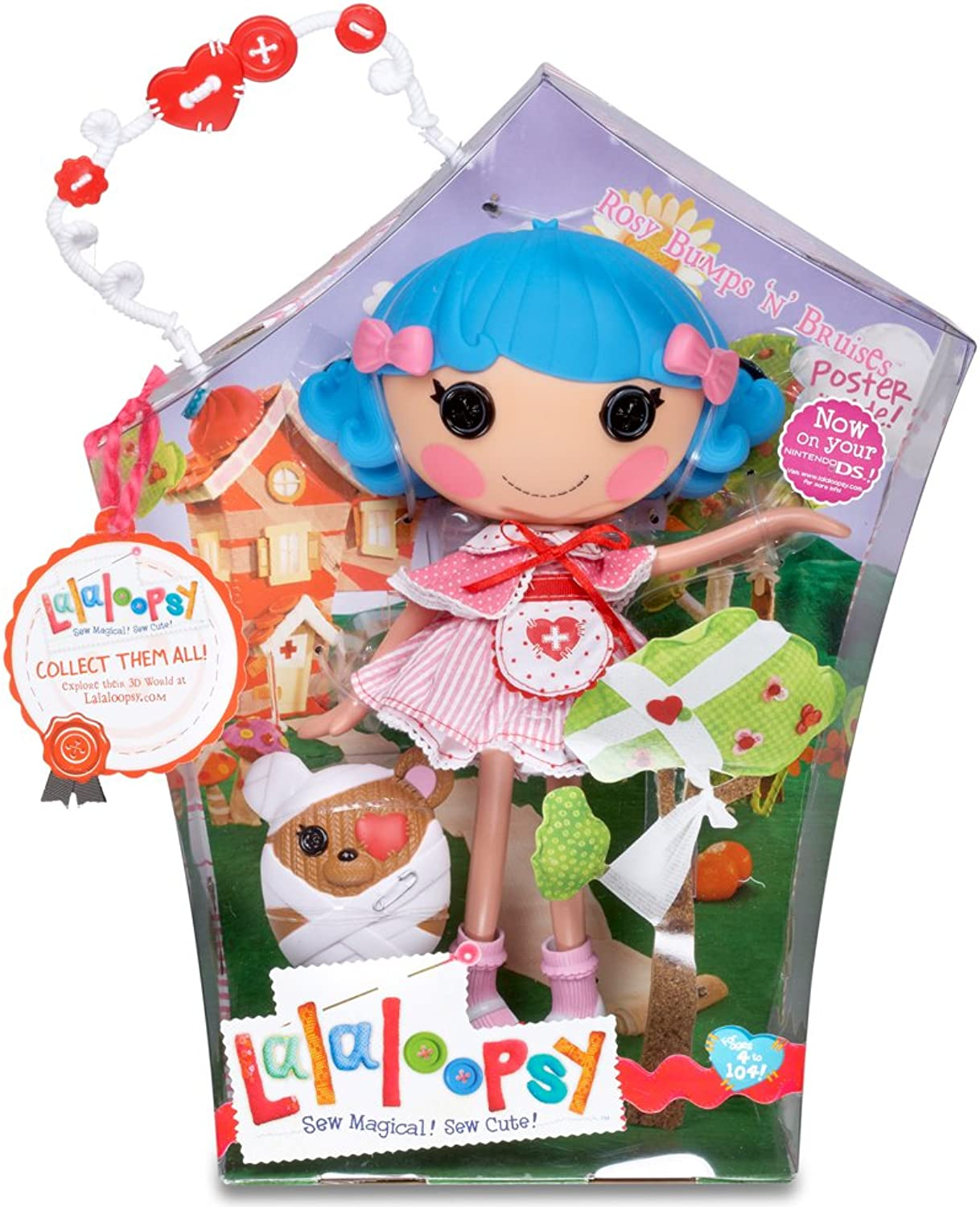 Lalaloopsy Rosy Bumps and Bruises Doll