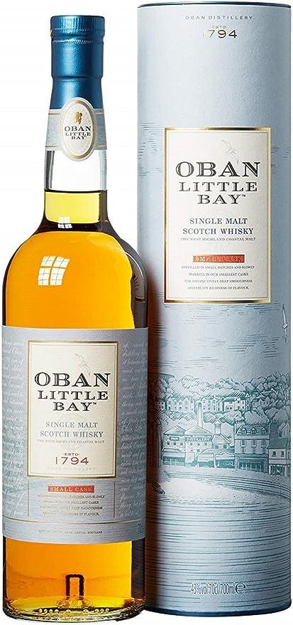 604 opinioni per Oban Little Bay Highland Single Malt Scotch Whisky- 700 ml
