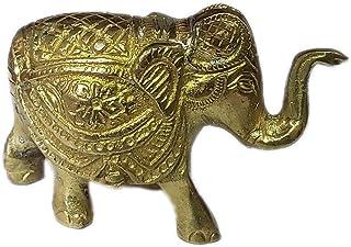 PARIJAT HANDICRAFT Home Decors Brass Elephant Statue
