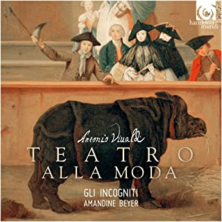 VIVALDI, A/ IL TEATRO ALLA.. -CD+DVD-