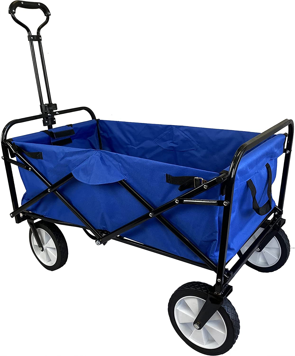 Meda Collapsible New mail order Popular standard Folding Outdoor Cart Utility Wagon Blue