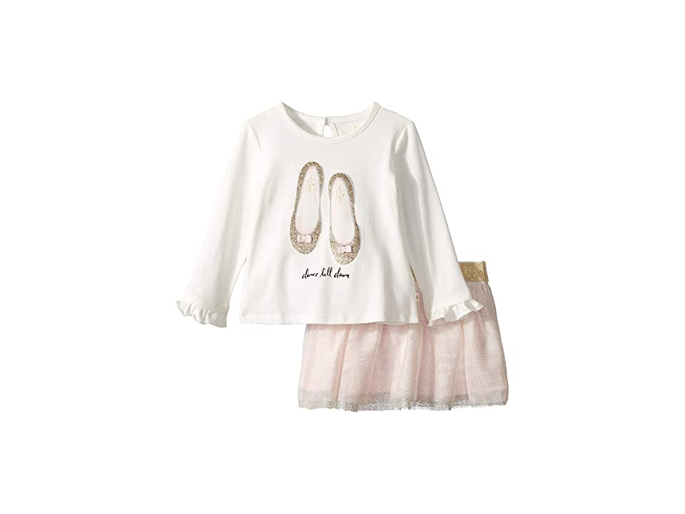Kate Spade New York Kids - Kate Spade New York Kids Glitter Flats Skirt Set