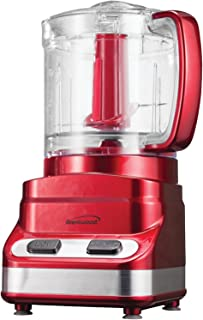 Brentwood FP-548 3 Cup Mini Food Processor, Red