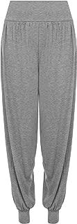 Women's Plus Size Plain Harem Trousers Pants