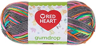 Red Heart Gumdrop Yarn - Rock Candy (Pack of 3)