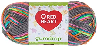 Coats Yarn RED HEART Gumdrop Yarn, Rock Candy – E800-960