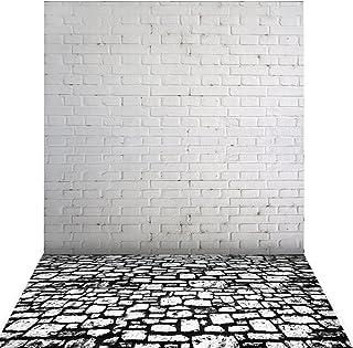 Photo Background,Andoer 1.5 * 2m Big Photography Background Backdrop Classic Fashion Wood Wooden Floor for Studio Professi...