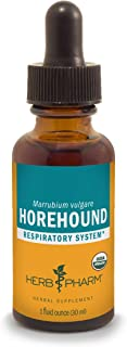 Herb Pharm Horehound Liquid Extract for Respiratory System Support - 1 Ounce