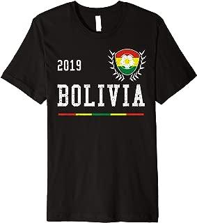 Bolivia Football Jersey 2019 Bolivian Soccer Jersey Premium T-Shirt