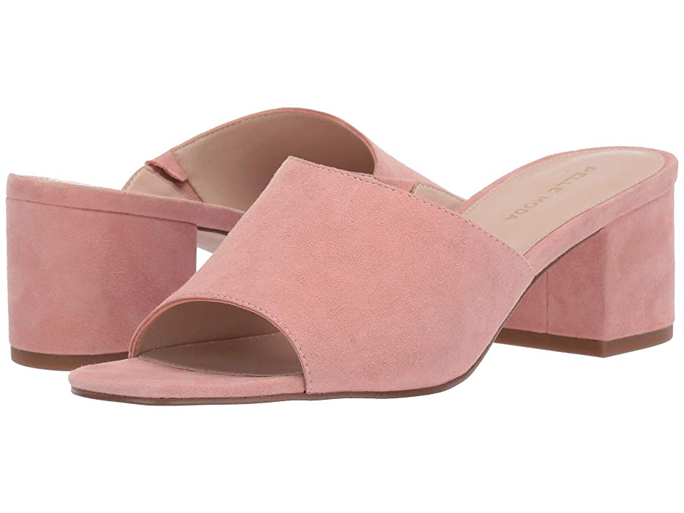 Pelle Moda Whitney (Peony Suede) Women's Clog/Mule Shoes, Pink