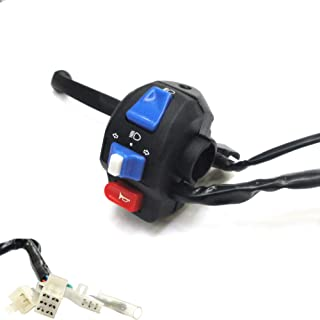MRS LEFT Kill Start Stop Switch with 4 wires connector for TAOTAO 110cc 125cc ATV QUAD//BOULDER B1 TFORCE CHEETAH Models