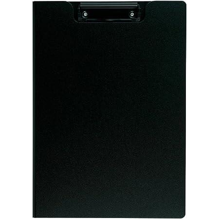 セキセイ クリップボード クリップファイル 発泡美人 A4-E ブラック FB-2016