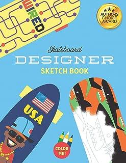 skateboard sketch