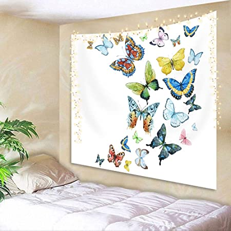 Butterfly Tapestry Wall Hanging Art Bedroom Dorm 2 Sizes Available