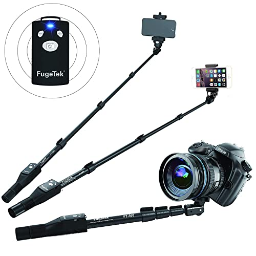 Fugetek Professional Selfie Stick Monopod With Removable Wireless Bluetooth  Remote 42114904b136