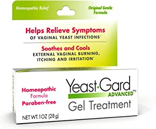 Advanced Homeopathic Gel Treatment - for External Yeast Infection Symptom Relief