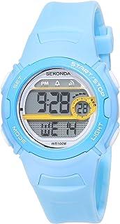 Sekonda Men's Digital Quartz Watch with Plastic Strap 1766