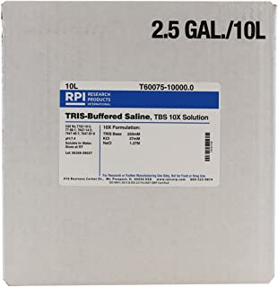 TRIS Buffered Saline, 10X Solution, 10 Liters