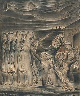 William Blakeジクレープリント アート紙 アートワーク 画像 ポスター 複製(賢明で愚かな処女の寓話)