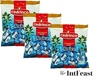 Cedrinca Anice Hard Candies, 5.25 oz. bags (Pack of 3)