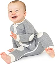 baby deedee 1 Piece Cotton, Velour Long Sleeve Footless Romper Pajama, Dream Catcher, 6-12 Months