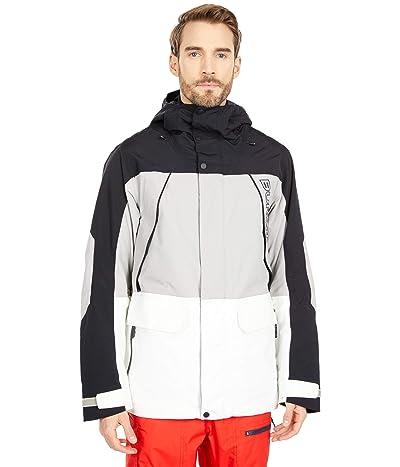Burton Breach Jacket (True Black/Iron Gray/Stout White) Men