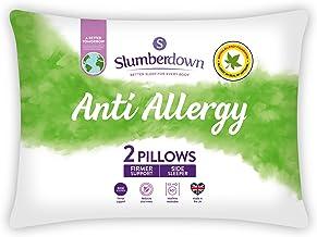 Slumberdown Anti-allergy kussen, wit, 2-pack, 2