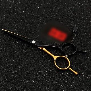 Professional Barber 5.5 Inch Personalized Haircut Scissors, Flat Shear + Tooth Scissor A Word Scissor Set Scissors (Color...