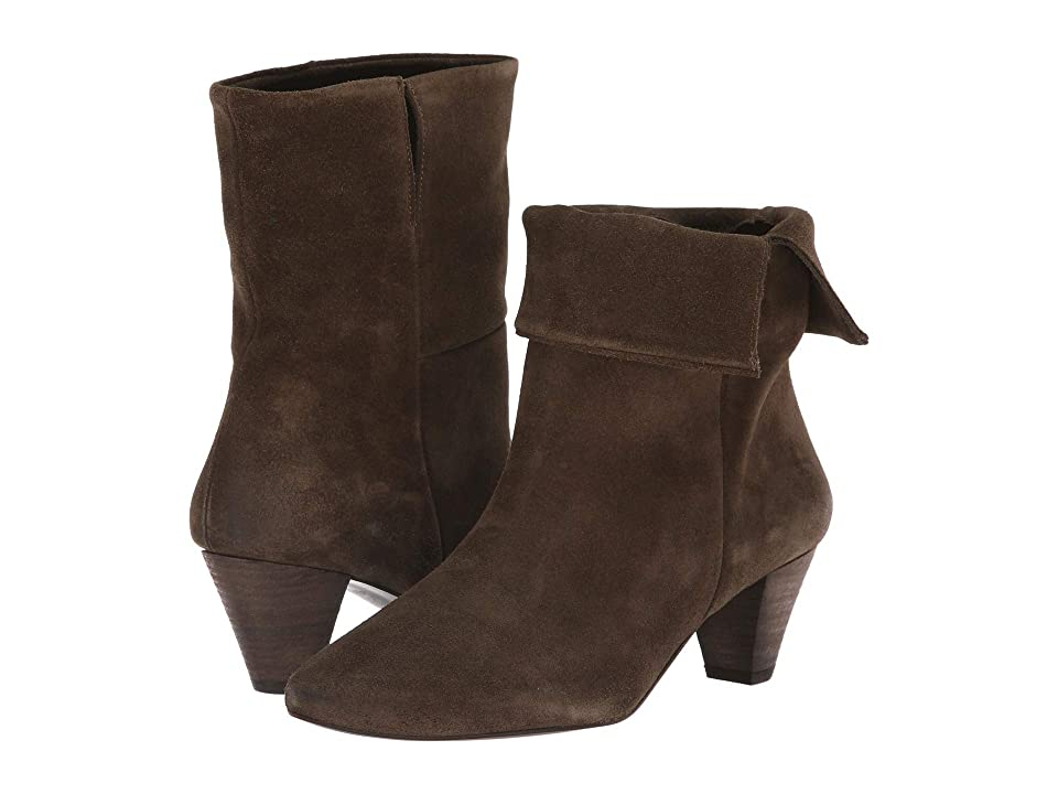 Free People Adella Heel Boot (Khaki) Women