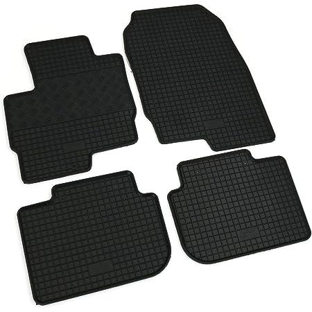 Allwetter 251329 Auto Schalenmatte A1 Tpe Gummi Fußmatten In Schwarz Auto Fußmatten Set Ohne Mattenhalter In Automatte Auto