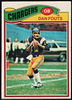 Football NFL 1977 Topps #274 Dan Fouts Chargers