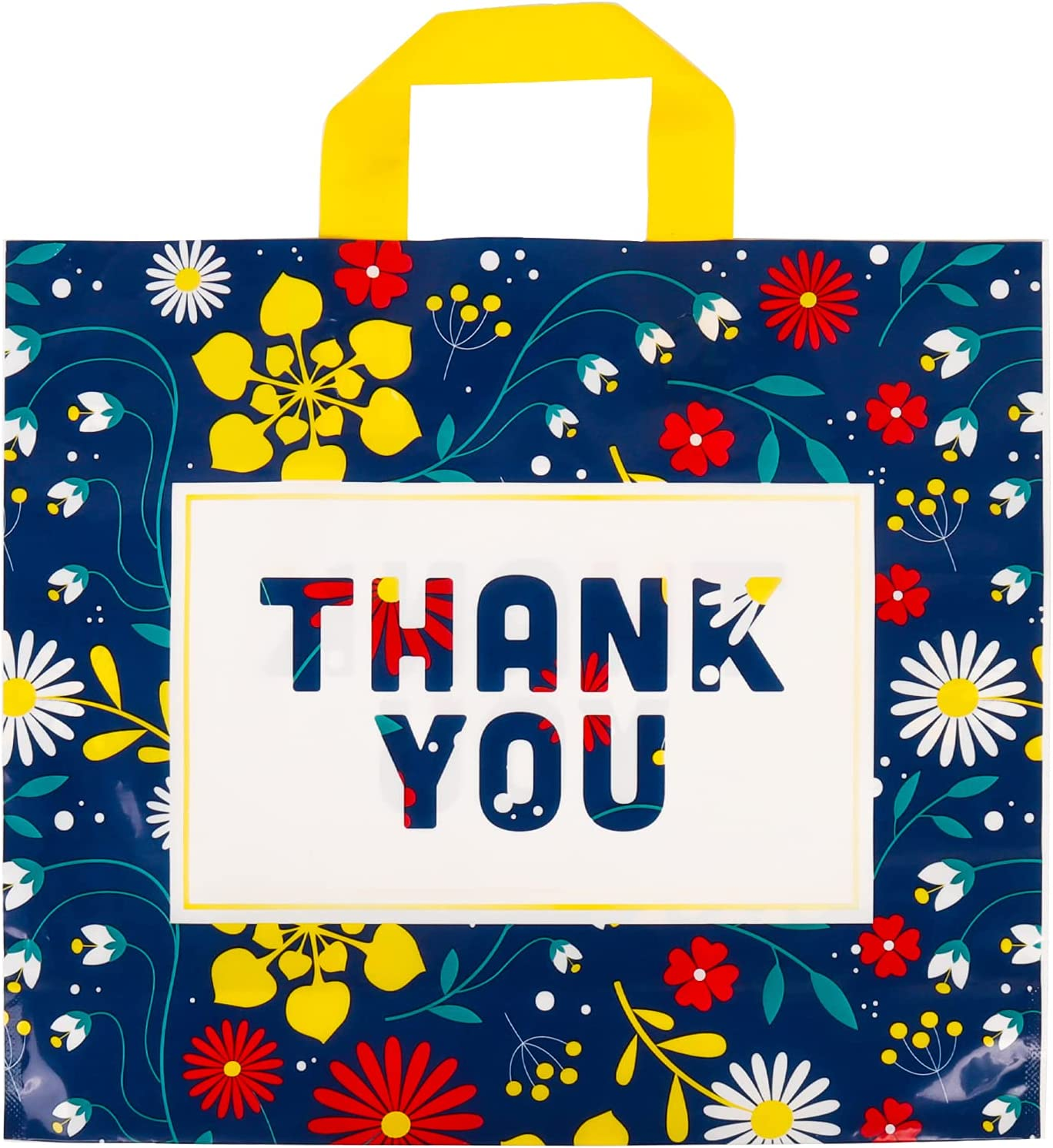 Thxbag Thank You Bags with Handles Popular popular 3.15MIL Regular discount Patt 50 Holiday Pack