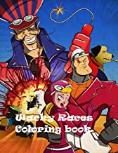 Wacky Races Coloring Book: Excellent Coloring Book Based on Classic Cartoon
