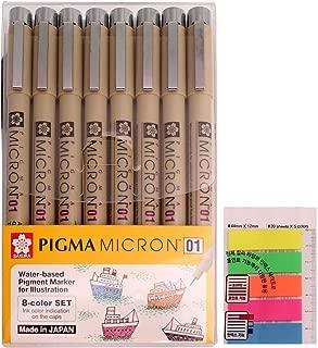 Sakura 30881 Pigma Micron 08 Black Ink Single Pen 0.5mm Sketch Draw Art Craft