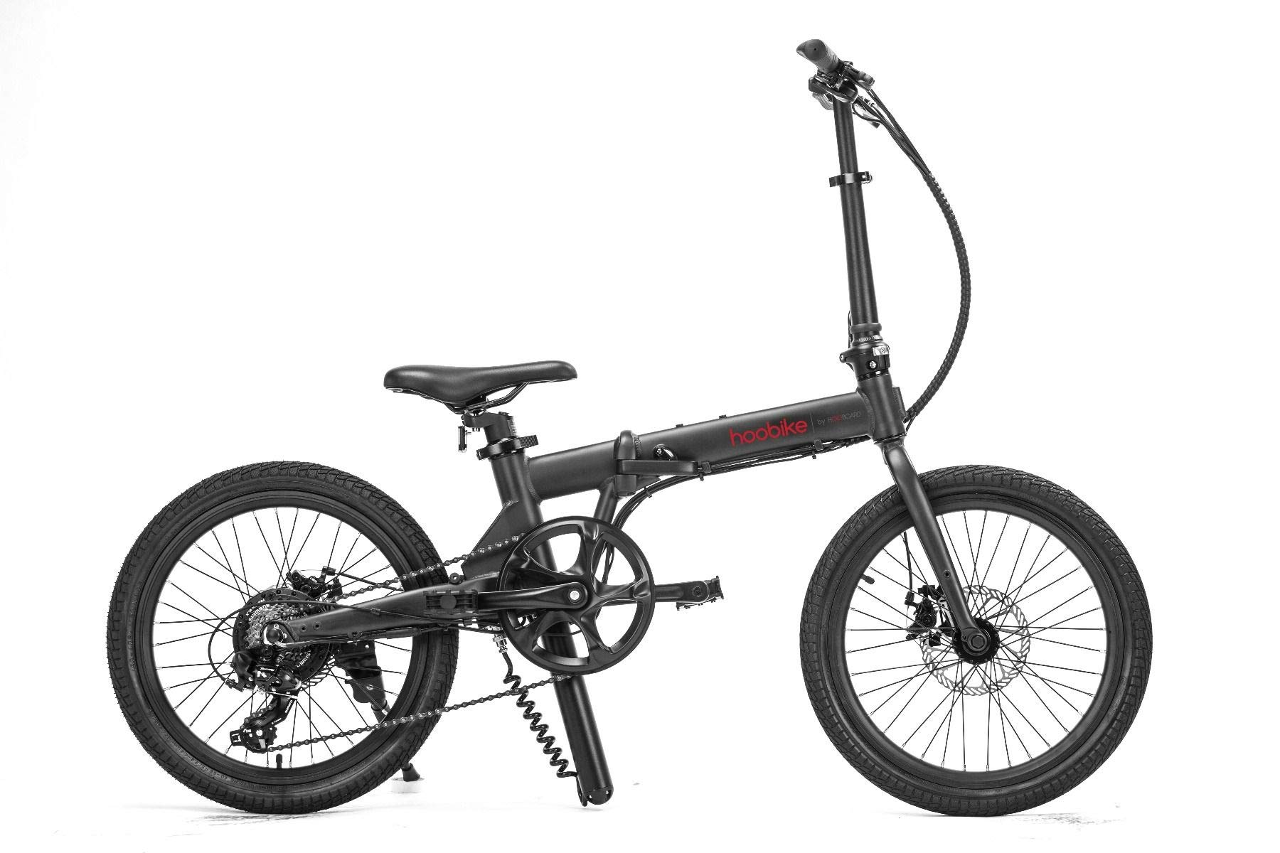 HOOBOARD Hoobike Bicicleta Eléctrica Plegable, 250 W, batería de ...