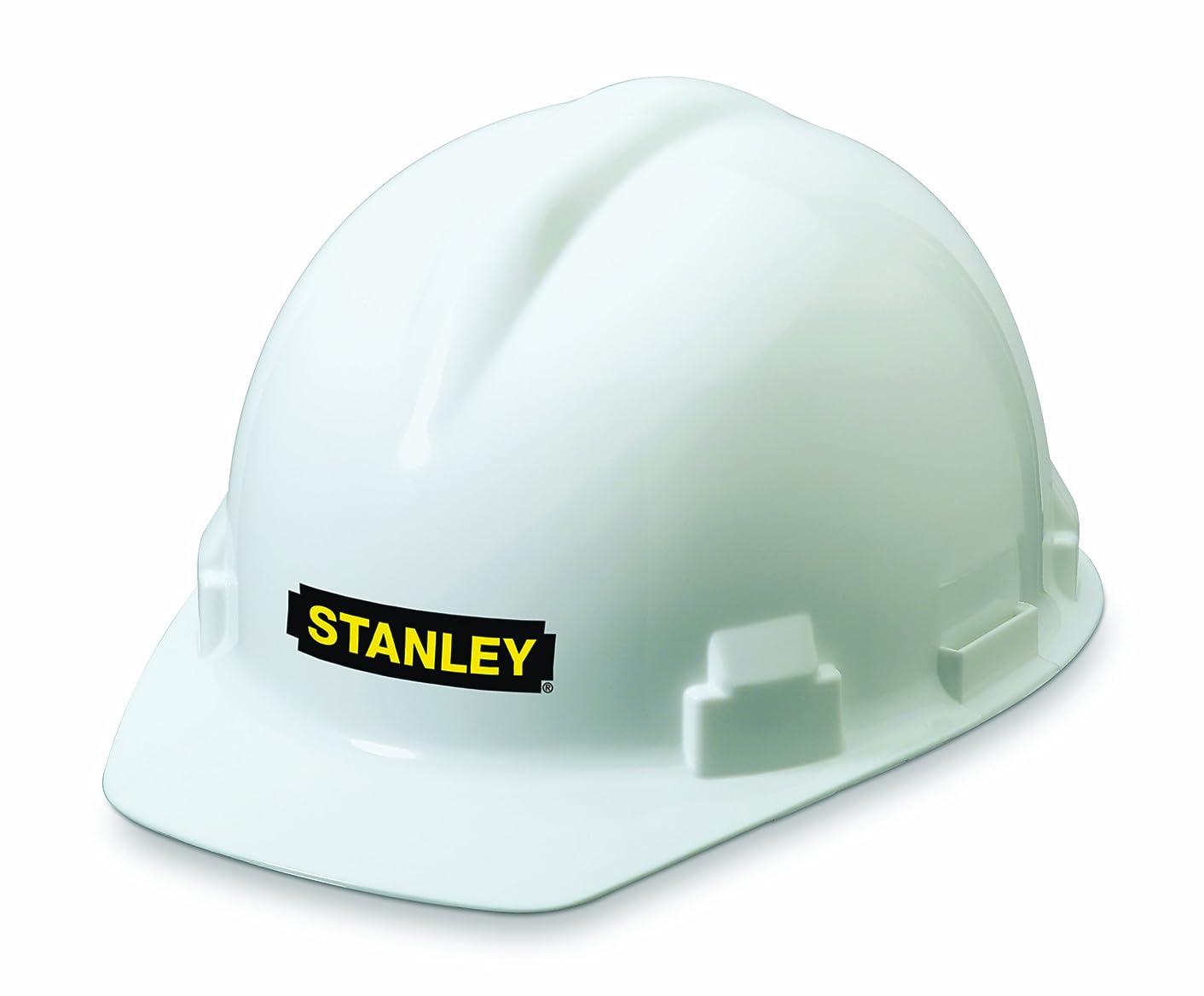 Stanley Ratchet Suspension White Hard Hat (RST-62004)