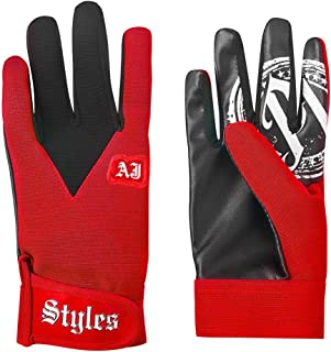 WWE AJ Styles Red Replica Gloves