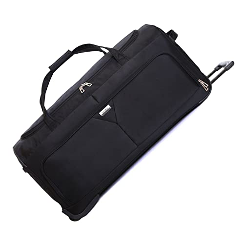 b13d0237c55c Karabar Girona Extra Large XL 30 Inch Super Lightweight Wheeled Rolling  Hold Luggage Holdall Duffle Bag