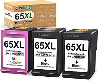 Palmtree Remanufactured Ink Cartridge Replacement for HP 65XL 65 XL Fit with HP DeskJet 3755 2655 3752 2622 2620 3730 3732...